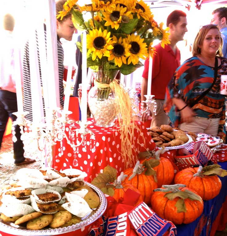 Ole Miss Rebels definitely know how to decorate for fall!