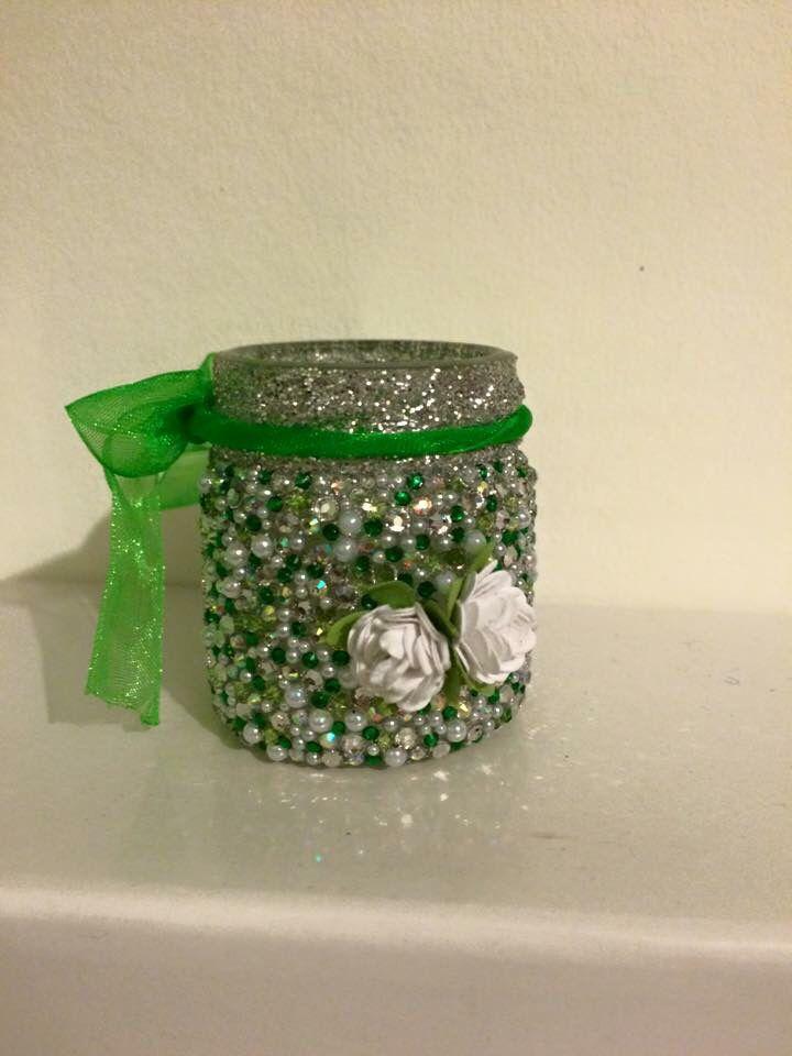 Cute little pot ideal for popping rings or earrings in 😊 #hickoryjars