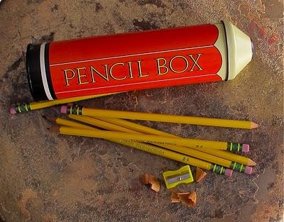 Vintage pencil case (Photo by Cheryl-Anne Millsap)