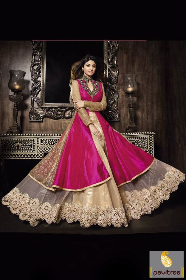 By the latest bollywood heroine Shilpa Shetty dark pink net anarkali suit online shopping by Fashion Diffusionz Pvt. Ltd. at pavitraa.in.  #anarkalisalwarsuit, #designeranarkalisuit, #anarkalistyle, #bridalwear, #weddingwearsuit, #bollywoodsalwarsuit, #diwalispecial, #shilpashettyspecial, #diwalidiscount More : http://www.pavitraa.in/store/bollywood-salwar-suit/ Call / WhatsApp : +91-76982-34040  E-mail: info@pavitraa.in