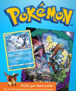 FREE Pokemon Card, Collector Album & More Event at Toys R Us on 5/13!