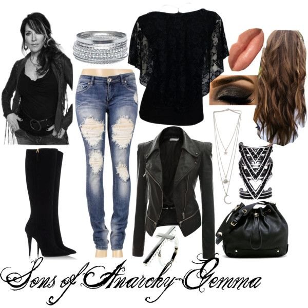 """Sons of Anarchy-Gemma"" by xmelissathomasx on Polyvore"