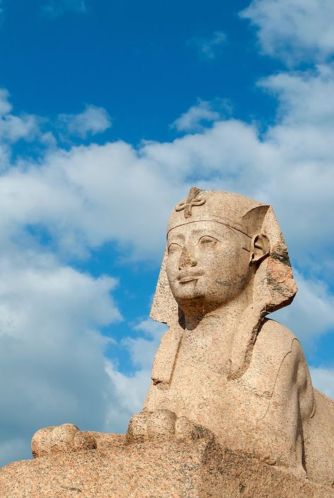 Sphinx at Memorial Of Diocletian, Alexandria, Egypt | Petr Svarc Images