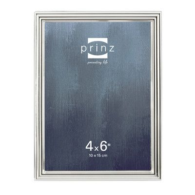 prinz empire shiny metal picture frame size - Metal Picture Frame