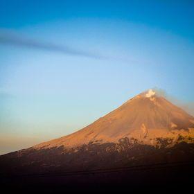 Captura del Volcán Popocatepetl.  500px / Eduardo De la Vega