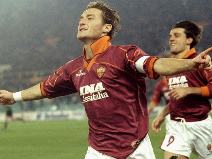 Francesco Totti & Vincenzo Montella - AS Roma