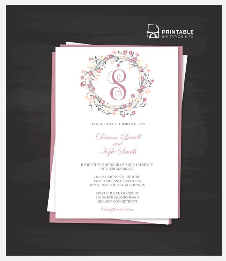 Create Your Own Wedding Invitations With These Free Templates