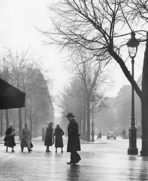 Todd Webb Avenue du Maine, Paris, 1950