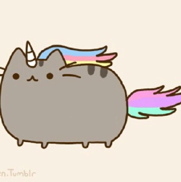 Unicorn Pusheen AAAHHHHHH I WANT TO KEEP IT!!!!!! Oh My