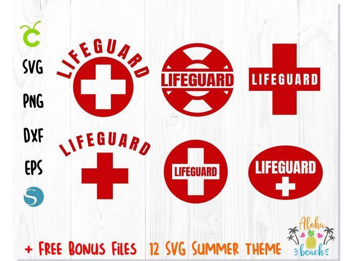 Lifeguard Svg Bundle Red Cross Svg Lifeguard Vector File Life Guard Png Life Guard Svg Lifeguard T Shirt Svg Life Guard Svg Cricut Lifeguard Cross Svg Svg