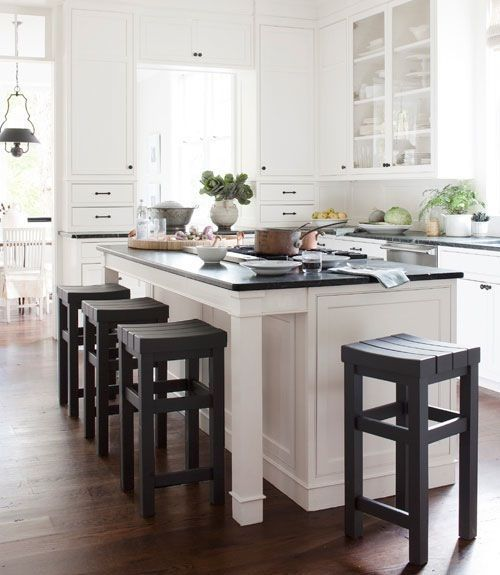 Can't go wrong with such straight lines. This kitchen has such an efficient, honest feel to it. | Georgica Pond Blog | American style for Australian homes
