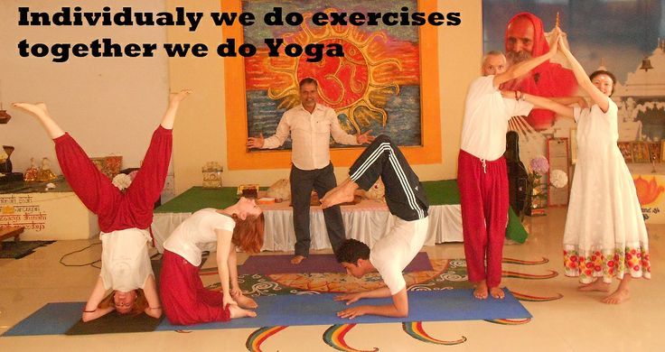 Difference between yoga and exercise