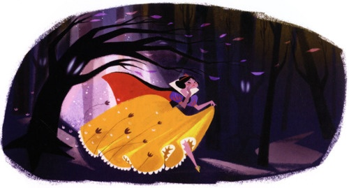 Snow White by Genevieve Godbout #snow white
