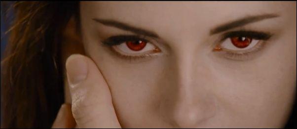 Kristen Stewart is a Vampire, (Gli occhi rossi di Bella nel teaser trailer di Breaking Dawn Parte 2!)