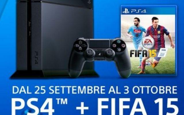 Fifa 15 in regalo se acquisti PS4 o XBox One! #fifa15 #playstatio4 #xboxone