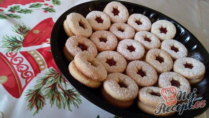 Linecké vánoční cukroví - FOTOPOSTUP