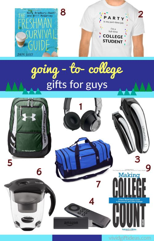Christmas Gifts For Dudes Part - 46: Going To College Gifts For Guys #GoingToCollege #GiftIdeas #guys