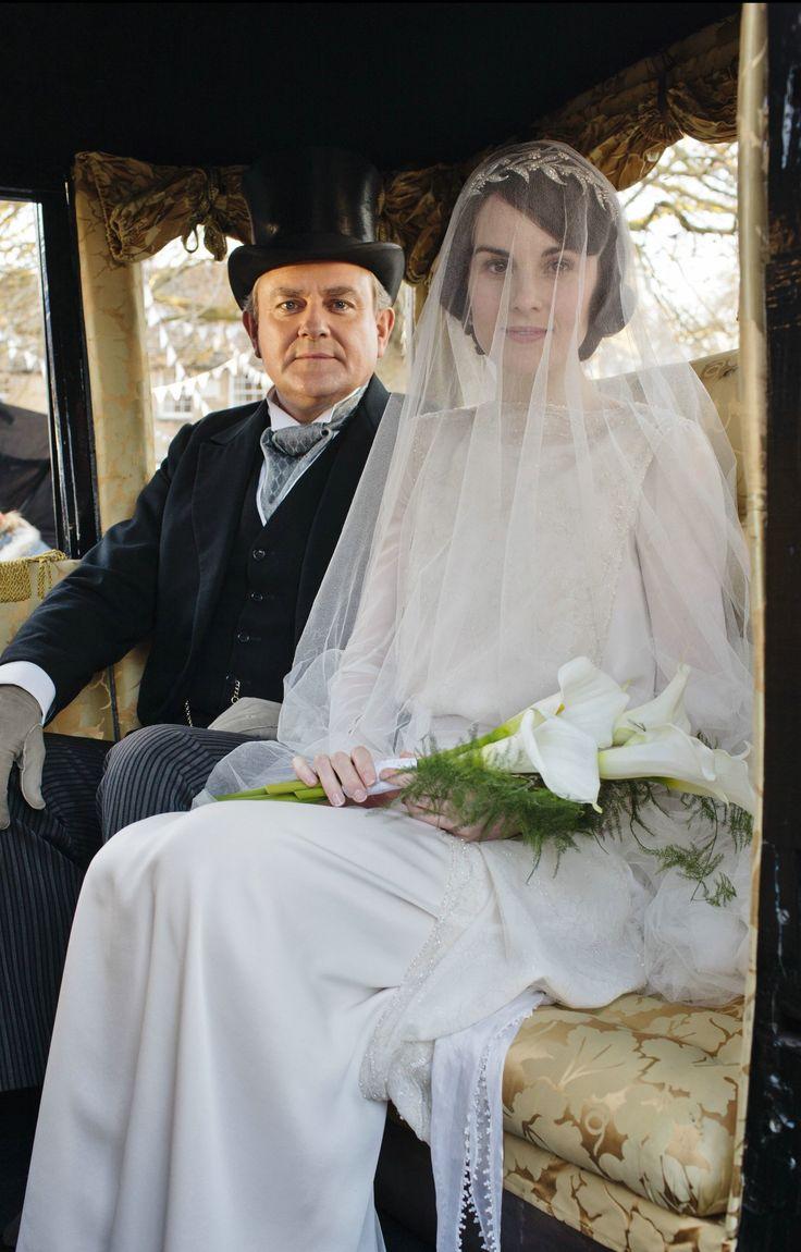Downton Abbey Series 3 Wedding - Lady Mary & Lord Grantham