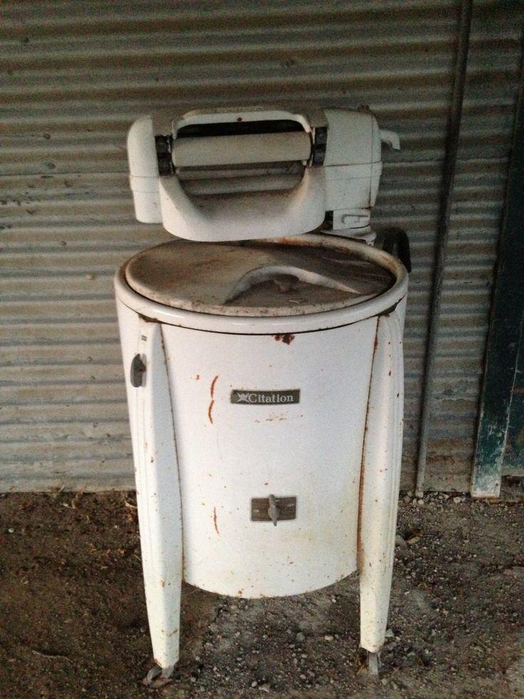 fashioned washing machine