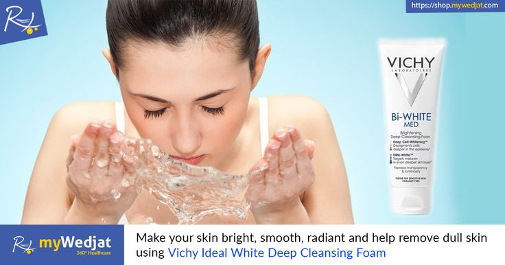 Make your skin bright, smooth, radiant and help remove the dull skin using Vichy Ideal White Deep Cleansing Foam. #SkinLightening #FaceWash
