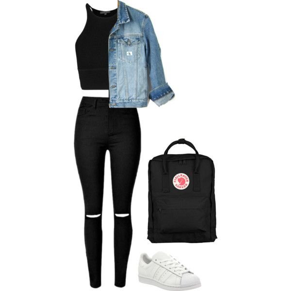 Untitled #473 by maritzawaffles on Polyvore featuring polyvore, fashion, style, Calvin Klein, adidas, Fjällräven and clothing