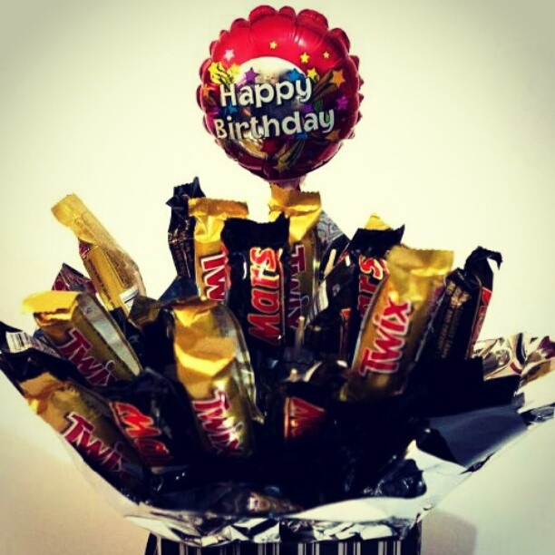 Chocolate bouquet made by my best friend for my birthday =)