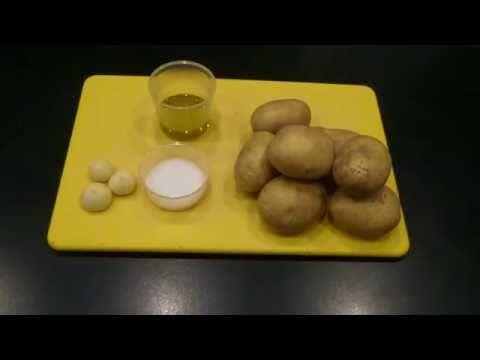Kartofler med hvidløg som du kan bruge til alt slags kød - Se mere her