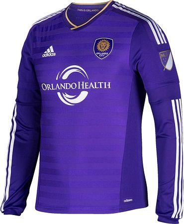 LS Authentic Orlando City MLS 2015 Home Jersey