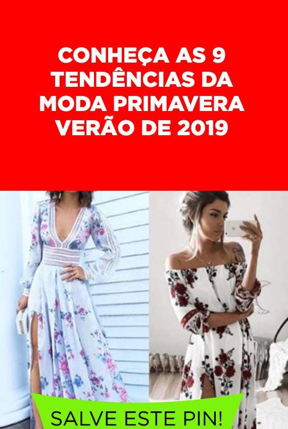 add197951 9 Tendências da Moda Primavera Verão 2019. As principais tendências da moda  primavera verão 2019