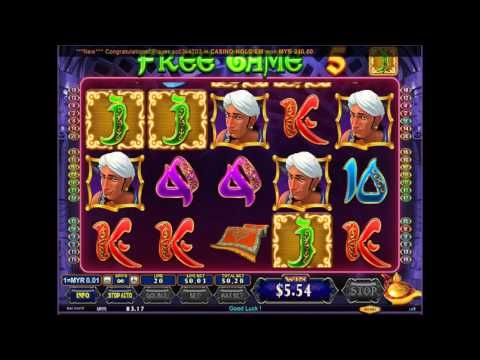 Win Big with Clubsuncity Online Casino Malaysia | Aladdin Online Slot Game | Bigchoysun.com - YouTube