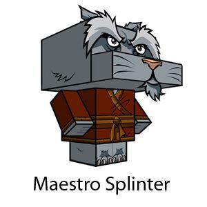 cubos de maestro splinter - Buscar con Google