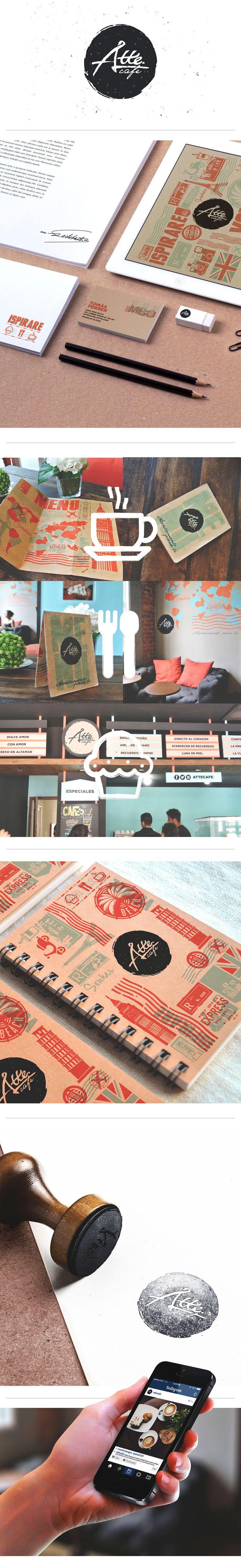 Atte. Café - Branding on Behance