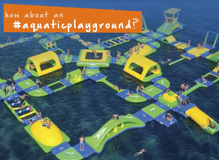 Have you been to an #aquaticplayground before? It's so much #familyfun! #summer #thingstodo