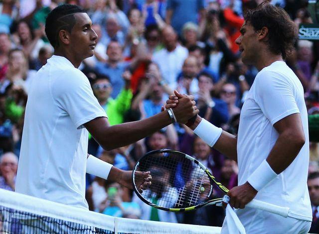 Nick Kyrgios umilia Rafa Nadal a Wimbledon.  #tennis