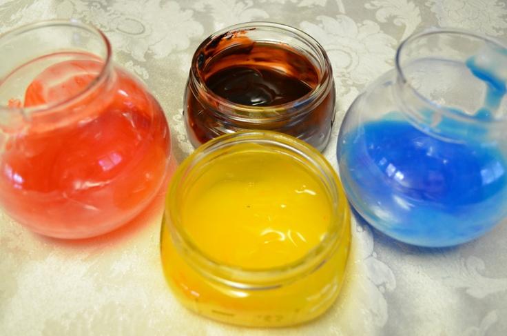 Homemade finger paints: Fun Stuff, Fun Experiment, Summer Fun, Fun Lists, Kids Fun