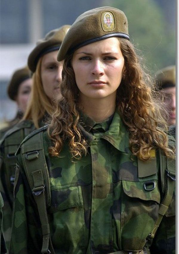 Mandatory military service for women.