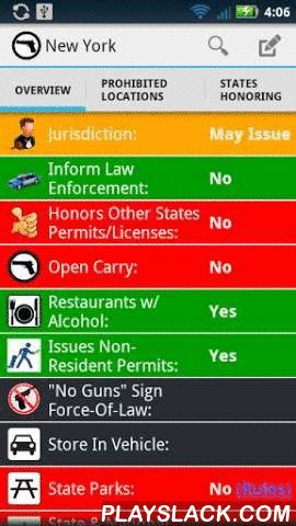 Concealed Carry Weapon Laws  Android App - playslack.com , Quick overview app of Concealed Carry Laws by state. See basic information for all 50 states including maps, excluded locations, and more.Concealed carry or carrying a concealed weapon (CCW) is the practice of carrying a weapon (such as a handgun) in public either on you or in close proximity. All 50 states have passed laws allowing citizens to carry certain concealed firearms in public, either without a permit or after obtaining a…