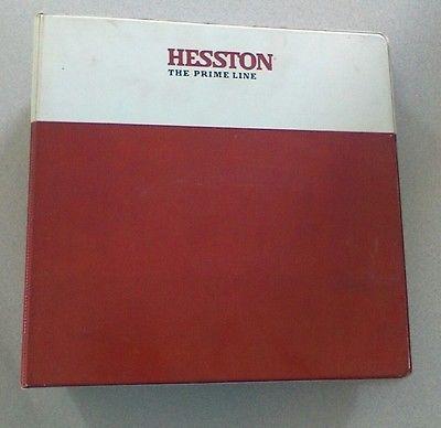 Hesston-1320-1340-Rotary-Mower-Conditioner-Service-Manual-Original-Binder