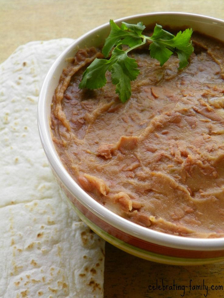 Not Refried Beans : Healthful, Delicious, and Vegan!