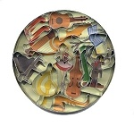 Mini music theme cookie cutter set of 12.  $14.95