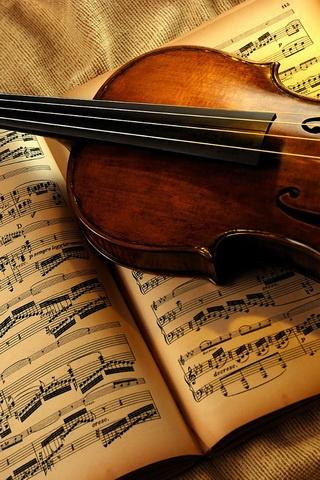 Violin Concerto iPhone4s Wallpaper