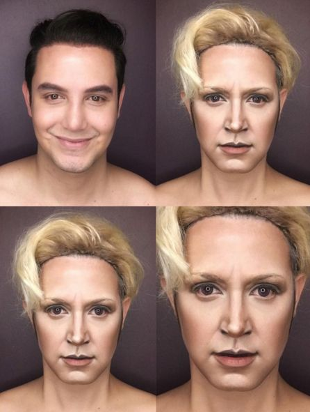 """He said he uses an eyebrow pencil to alter the appearance of his features, and light and dark cream or stick foundations to contour.   This Guy Transforms Himself Into """"Game Of Thrones"""" Characters And It's Amazing"""