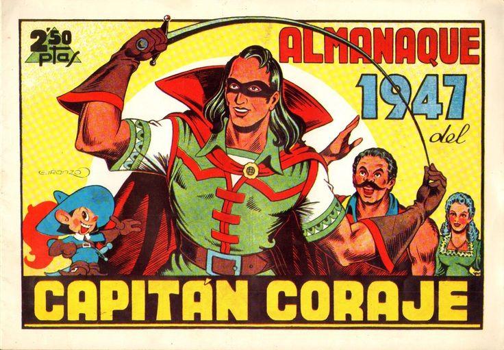 El Capitán Coraje, Almanaque 1947