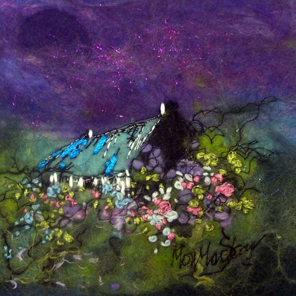 Violet Sky by by Moy Mackay