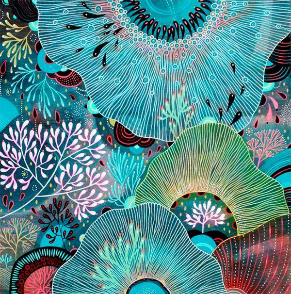 art by Yellena James #art #illustration #sea