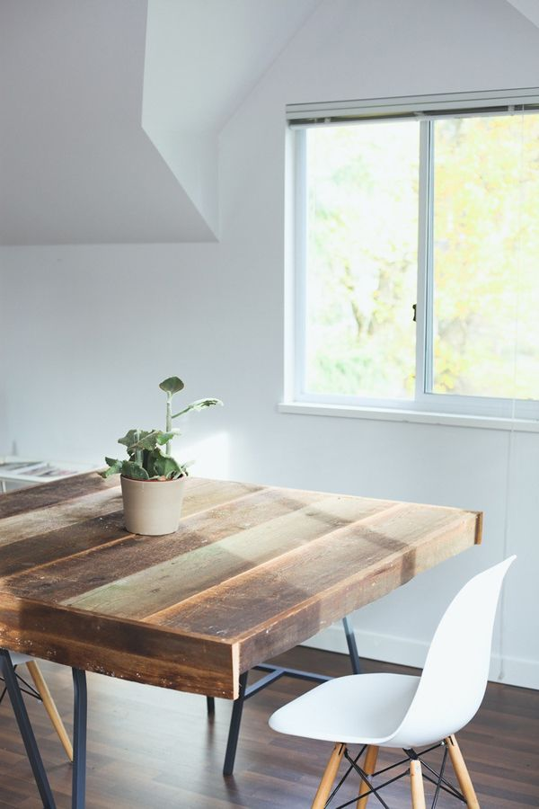 Love This Wooden Table. Great Ideas