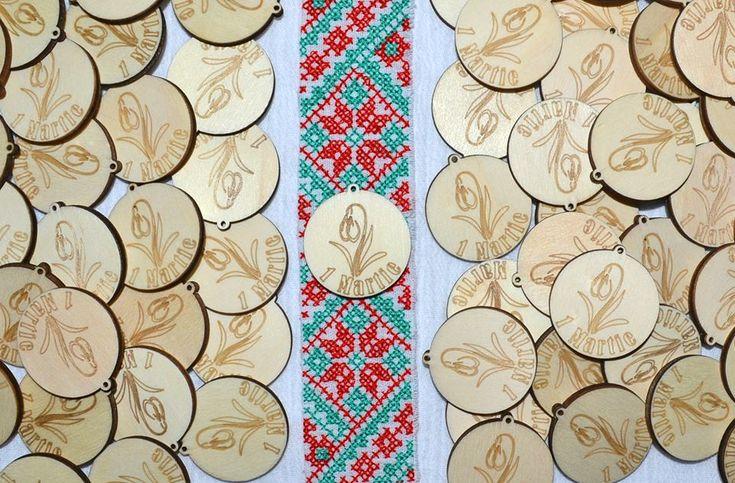 martisoare handmade ghiocel