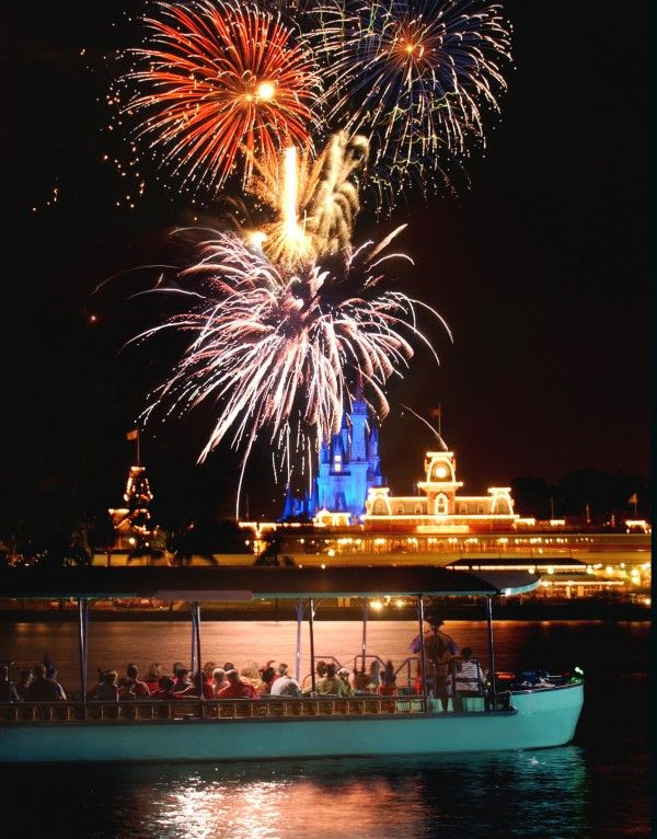Walt Disney World Insider Tips & Secret Attractions | Reserve the Pirates and Pals Fireworks Voyage, which sets sail from the Contemporary Resort. The pirate guide is over-the-top enough to keep sleepy little ones' attention; the view of the Magic Kingdom's Wishes fireworks makes it worthwhile for adults.