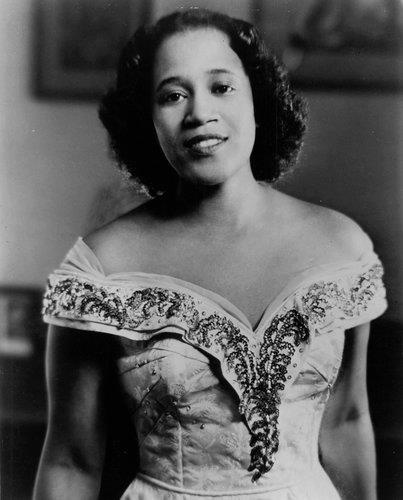 "Camilla Williams, famed opera singer, performed as ""Madame Butterfly"" in 1946. She was the first African American woman to sign a contract with a major American opera company.:"