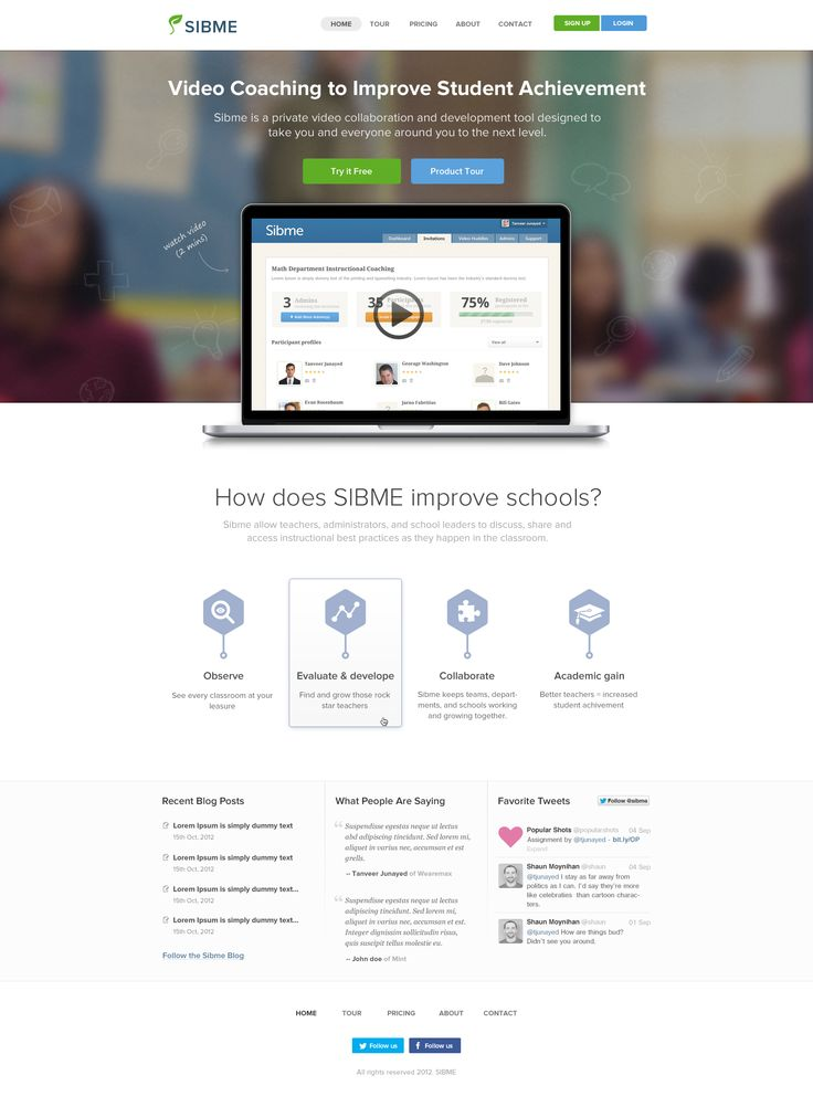 11 best Best Landing Pages Design to get inspired from images on